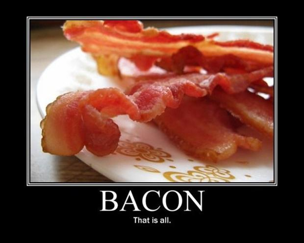 Bacon, Jesus, and the New Covenant
