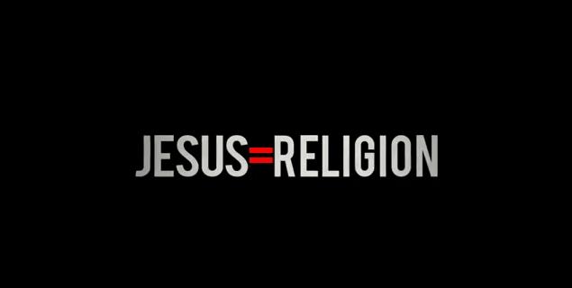 Jesus is Religion