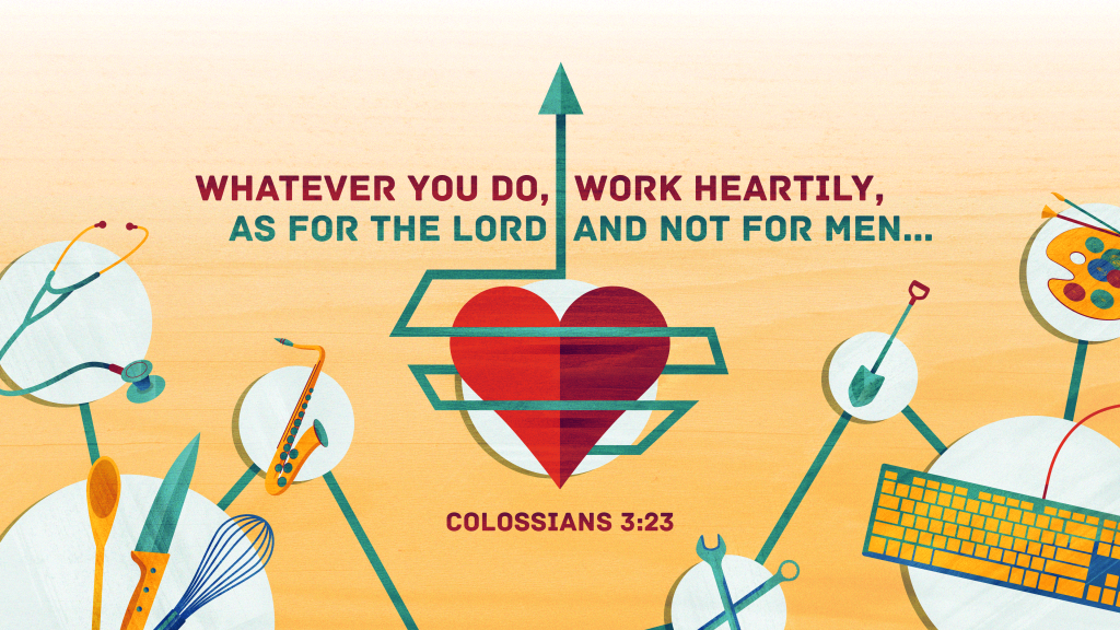 Colossians 3:23 [widescreen]
